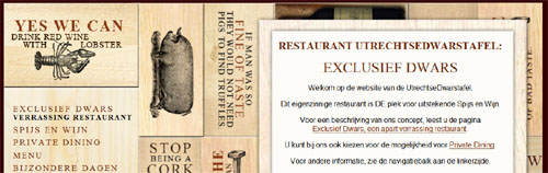 Private Dining Header